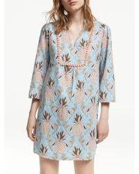 d7e1e1726a0 Boden Mia Ottoman Dress in Blue - Lyst