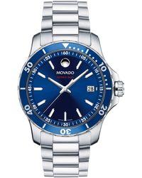 Hot Movado - 2600137 Men s Series 800 Date Bracelet Strap Watch - Lyst 014e72af3749