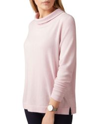 Pure Collection - Toccato Bardot Jumper - Lyst