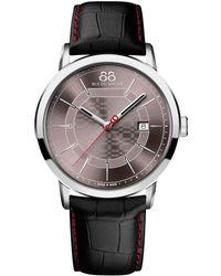 88 Rue Du Rhone - 87wa140026 Men's Double 8 Origin Leather Strap Watch - Lyst