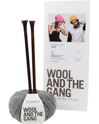 Wool And The Gang - Zion Lion Hat Knitting Kit - Lyst