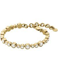 Dyrberg/Kern - Teresia Swarovski Crystal Bracelet - Lyst