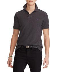 Ralph Lauren - Polo Slim Fit Stretch Mesh Polo Shirt - Lyst