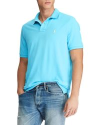 Ralph Lauren - Polo Custom Slim Fit Weathered Polo Shirt - Lyst