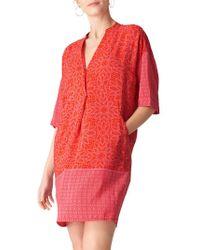 Whistles - Riya Print Luna Dress - Lyst