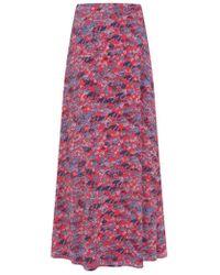 John Lewis - Mint Velvet Carolina Print Maxi Skirt - Lyst