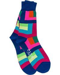 Thomas Pink - Holt Colour Block Socks - Lyst