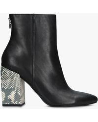 Dolce Vita - Coby Block Heel Ankle Boots - Lyst