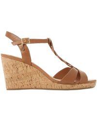 Dune - Koala Wedge Heel Sandals - Lyst