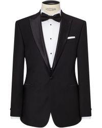 John Lewis | Peak Lapel Basket Weave Regular Fit Dress Suit Jacket | Lyst
