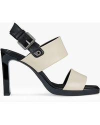 416f7002d3b Geox - Women s Jenieve Heeled Sandals - Lyst. Geox - Jenieve - Lyst