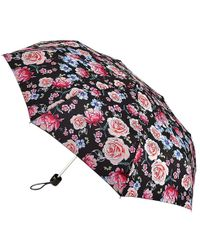 Fulton - Minilite Sketched Bouquet Umbrella - Lyst