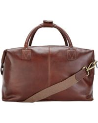 John Lewis - Made In Italy Leather Holdall - Lyst