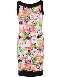 John Lewis - Chesca Carnival Wave Print Border Dress - Lyst