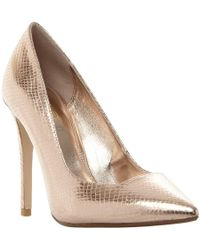 Dune - Wide Fit Aiyana Stiletto Court Shoes - Lyst