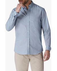 Jaeger - Geometric Diamond Print Shirt - Lyst