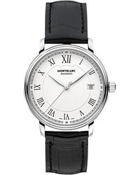 Montblanc - 112611 Unisex Alligator Leather Strap Watch - Lyst
