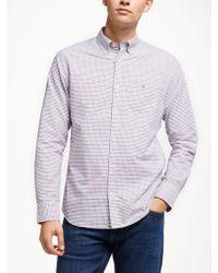 GANT - Tattersall Check Shirt - Lyst