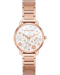 Michael Kors - Mk3841 Women's Mini Portia Bracelet Strap Watch - Lyst