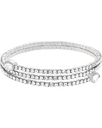 Swarovski - Twisty Crystal Cuff - Lyst