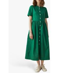 Toast Cotton Oxford Shirt Dress