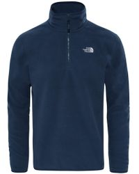 The North Face - 100 Glacier 1/4 Zip Men's Fleece - Lyst