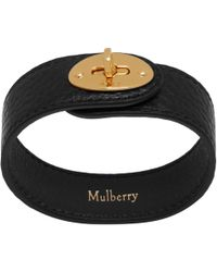 John Lewis - Mulberry Bayswater Medium Leather Bracelet - Lyst