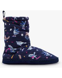 Joules - Homestead Animal Print Slipper Socks - Lyst