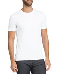 BOSS - Boss Lecco Short Sleeve Cotton T-shirt - Lyst