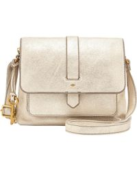 Fossil - Kinley Small Leather Cross Body Bag - Lyst