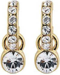 Dyrberg/Kern - Laurino Swarovski Crystal Earrings - Lyst