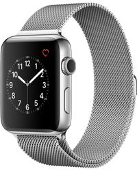 Apple - Watch Series 2 42mm Stainless Steel Case With Milanese Loop - Lyst
