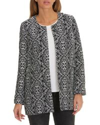 Betty Barclay - Textured Woven Coat - Lyst