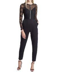 French Connection | Hannah Beau Long Sleeved Jumpsuit | Lyst