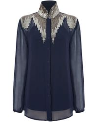 Raishma - Beaded Shirt - Lyst