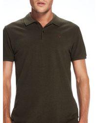 Scotch & Soda - Clean Pique Polo Shirt - Lyst