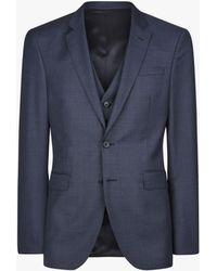 Jaeger - Wool Basketweave Regular Fit Suit Jacket - Lyst