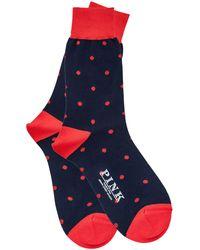 Thomas Pink - Polka Dot Socks - Lyst