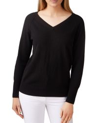 Pure Collection - Toccato Raglan Jumper - Lyst