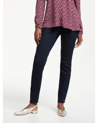 Gerry Weber - Slim Stretch Cotton Trousers - Lyst