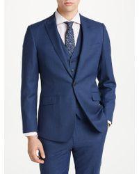 Richard James | Slim Fit Windowpane Check Suit Jacket | Lyst