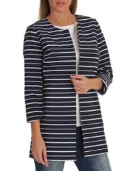 Betty Barclay - Striped Coat - Lyst