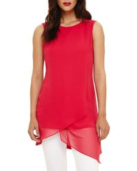 Phase Eight - Vance Sleeveless Tunic Top - Lyst
