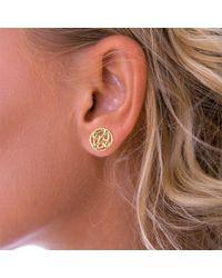 John Lewis - Nina B 9ct Gold Celtic Knot Stud Earrings - Lyst