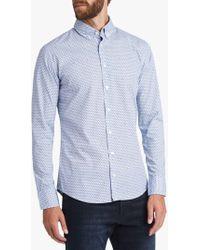 BOSS - Boss Mabsoot Long Sleeve Pattern Shirt - Lyst