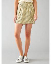Harris Wilson - Epopee Stripe Linen Skirt - Lyst