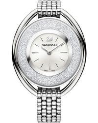 Swarovski - 5181008 Women's Crystalline Oval Bracelet Strap Watch - Lyst
