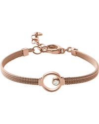 Skagen - Elin Crystal Circle Bracelet - Lyst