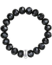 Thomas Sabo - Charm Club Obsidian Bracelet - Lyst