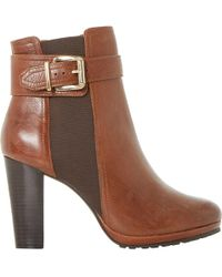 Dune - Prowl Ankle Boots - Lyst